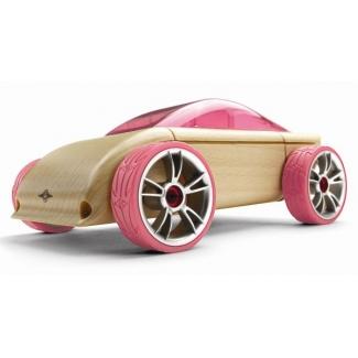 Mini C9p masina sport, jucarie din lemn