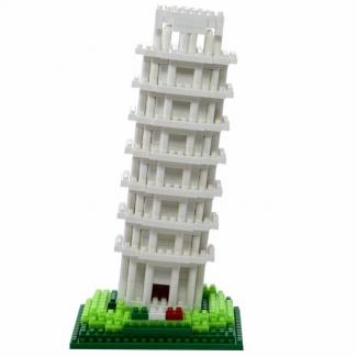 Turnul din Pisa, jucarie de construit tip lego
