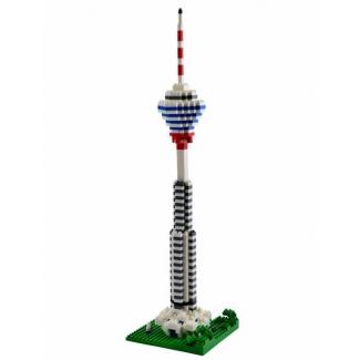 Turnul Kuala Lumpur, jucarie de construit tip lego