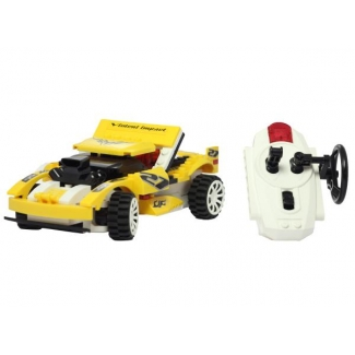 Masina de curse compatibila lego, cu telecomanda