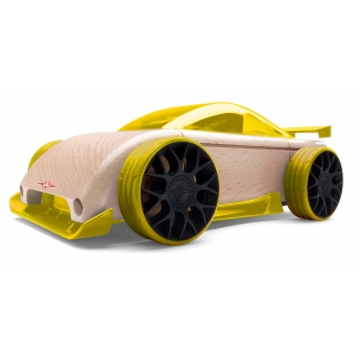 Mini C9-R masina sport, jucarie din lemn