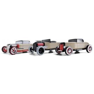 Mini Hot Rod - set 3 jucarii