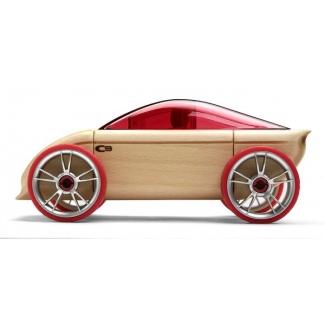 C9 masina sport, jucarie din lemn