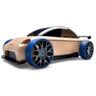 Mini S9-R sport sedan, jucarie din lemn